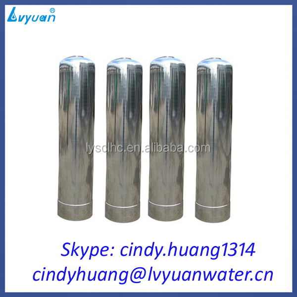 stainless steel sand/carbon/resin water filter tank for pre treatment system