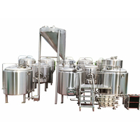 10BBL 1200 liter NEW grain mill brewery turnkey commercial craft beer brewery equipment