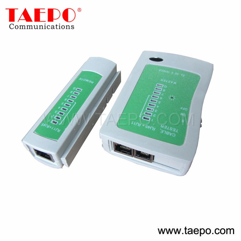 Intelligent Patch Cat 6 Cable Tester For Rj11 Rj45 Bnc