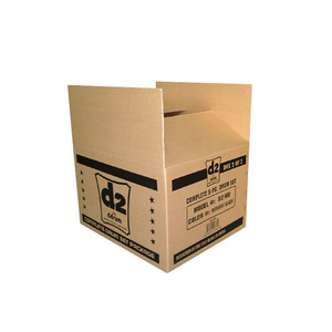 Custom paper packaging carton box robotic palletizer paper corrugated boxes