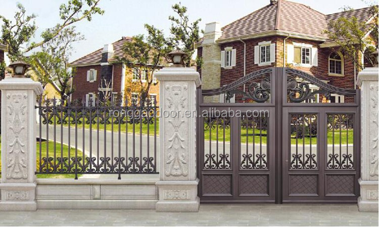 Matt Black Color Gate /garden House Gate