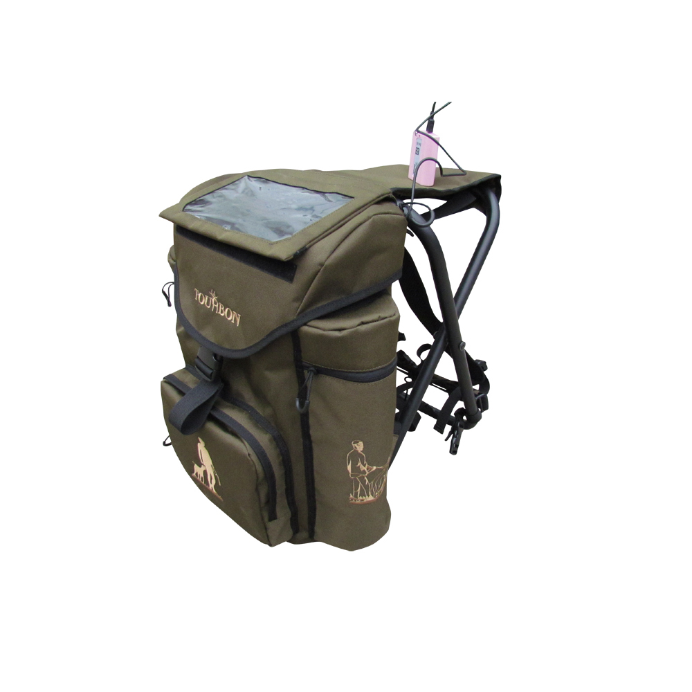 Backpack fishing chair - Solar Panel Power Charger Nylon Aluminum Alloy Frame Fold Able Fishing Hunting Backpack Chair