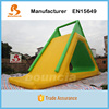 Outdoor Commercial Inflatable Floating Water Slide For Kids N Adults
