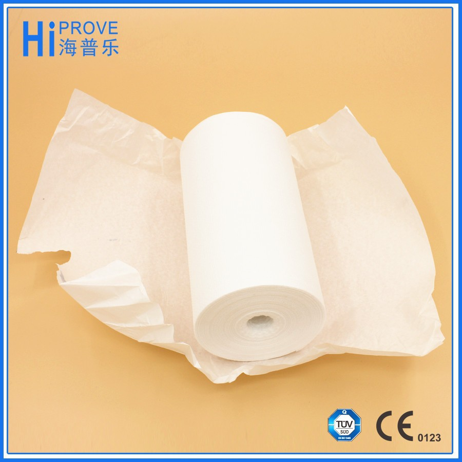 bleached medical absorbent cotton gauze roll