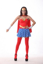 Halloween disfraz estrella woman superwoman superhéroe superman traje