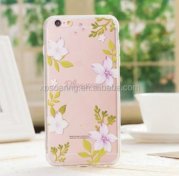 finest selection 2617f d077f Acrylic Clear Flower Case Back Cover For Iphone 6 6s,For Iphone 6 Plus  Acrylic Flower Hard Shell Case - Buy Acrylic Clear Flower Case Back Cover  For ...