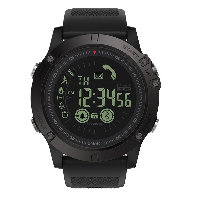 Zeblaze BT4.0 Sports Smart Watch 5ATM Water-Proof Smart Wrist Band Pedometer Alarm Stopwatch Remote Camera Reminders Compatible