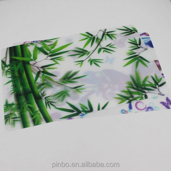 Kitchen Plastic 3D Placemats Coasters for Kitchen