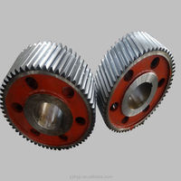 High Quality Alloy Steel Casting /Forging Ring Gear