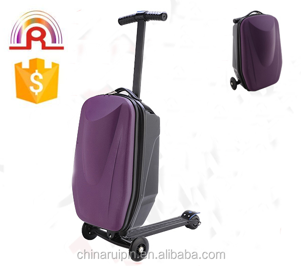 "Scooter luggage PC EVA Trip Carry-On Skylite Luggage 20"" work suitcase smoothly skate bag"