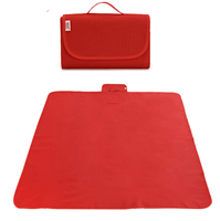 "Ultra Large Thick Polyester Fleece Outdoor Mat Waterproof Antibacterial Picnic Blanket Tote 80""x 60"" Picnic Camping Mat"