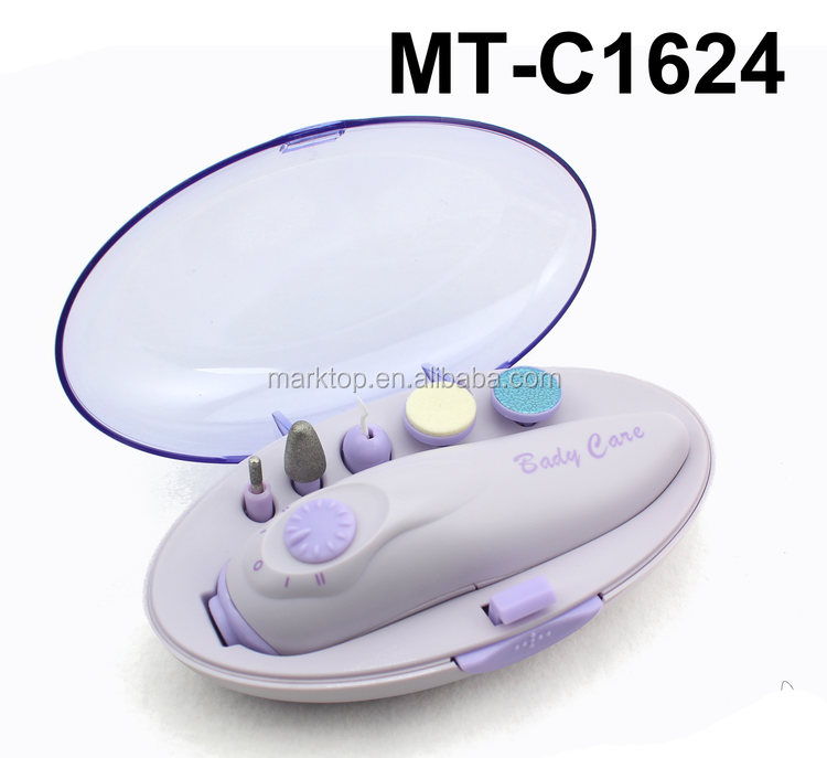 Multifunction electric baby manicure set pedicure set