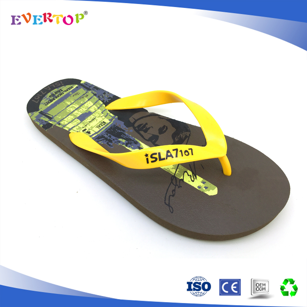 2016 New Arrival Men Casual Flip Flops Solid Flat Summer Fashion Slippers Hot High Quality Shoes
