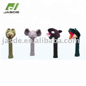 Custom oem animals golf driver club head covers