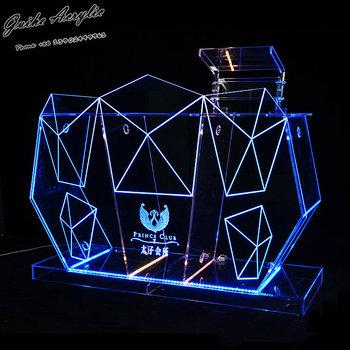 GUIHEYUN Colourful Led Night Club Acrylic Bar Table Dj Table
