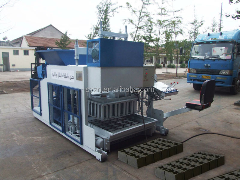 QMY10-15 hollow block making machine price block laying machine price concrete block machine