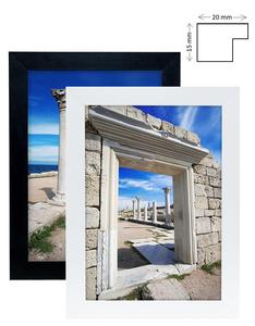 White Black Large Photo Picture Frames with Acrylic/Plastic Glass A4 A3 A2 A1