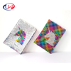 New style custom bling bling Silver Unicorn Multi color reversible sequins notebook small MOQ accept