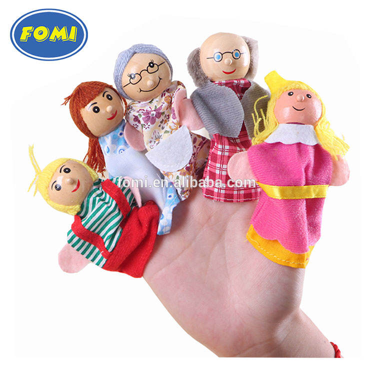 Wholesale Lovely Mini Plush Finger Puppets Toys hand puppets toys