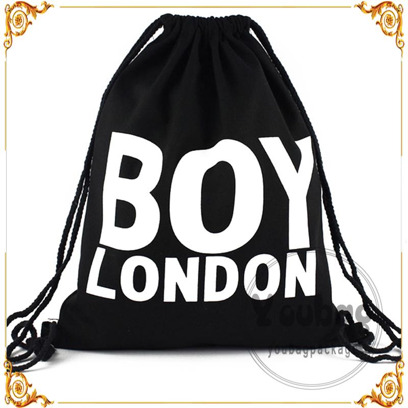 new style round reusable tote promotional canvas cosmetic bag