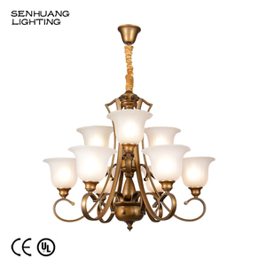 Cheap Price Large Luxury Hotel Ceiling Hanging Industrial Style Restaurant Chandeliers