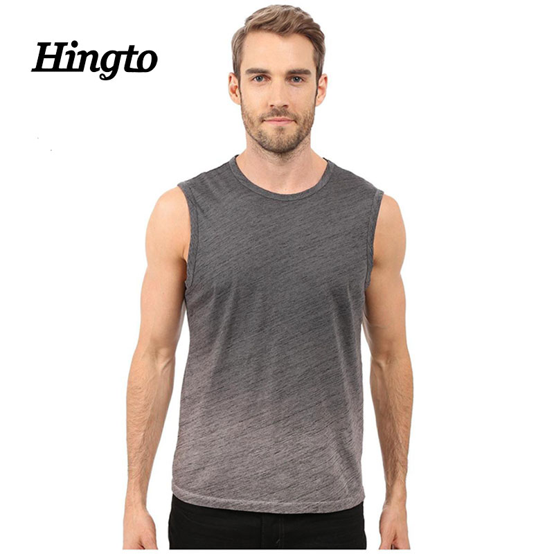 Latest design gym jersey cotton/ polyester jogging tank tops
