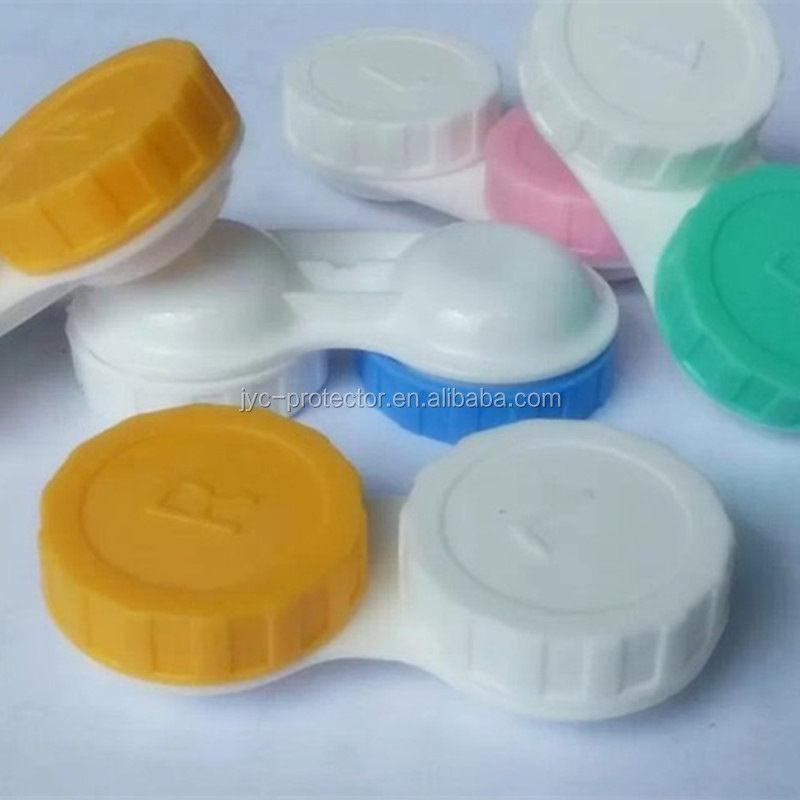 Contact eye lenses ,WD 2He custom contact lens cases