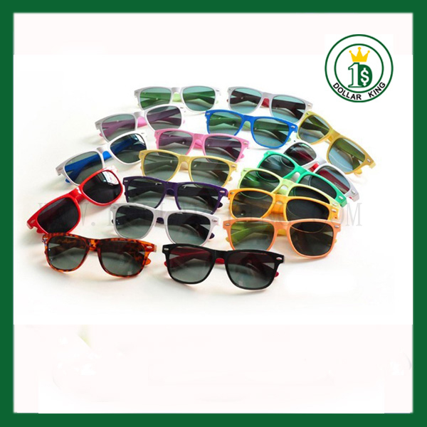 Color Frame Dark Lenses Sunglasses Shades Sunnies cheap red sunglasses