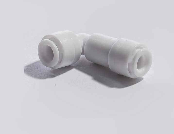 "1/4""*1/4"" POM/PP L type plastic check valve for water purifier"