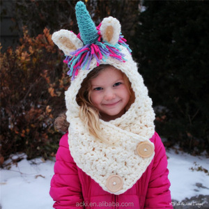 ab5fe985553d7 Winter Hat With Scarf