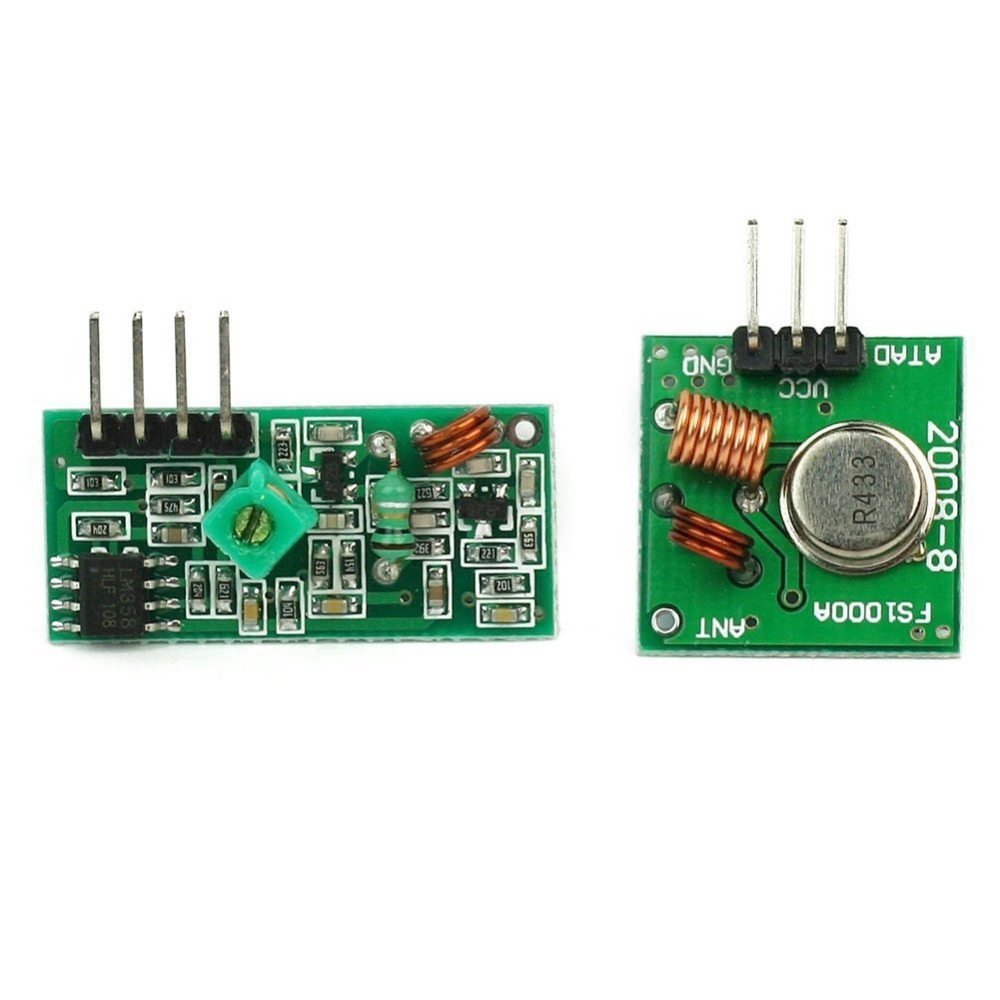 For Uno By Atomic Market Rf Wireless Transmitter And Receiver Link 433mhz Circuit Kit Module Buy 433 Mhzrf Modulemodule Product On