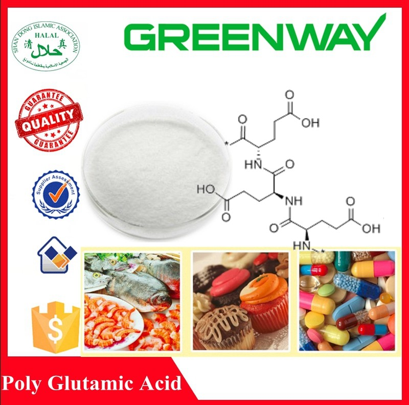 Hot Sell High Purity Poly Glutamic Acid, Poly Gamma Glutamic Acid (pga),