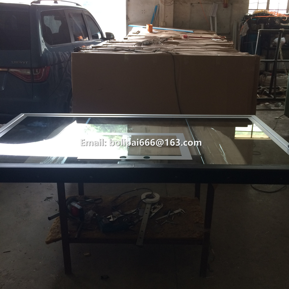 Solid Structure and Decorative Glass Function outdoor tempered glass basketball