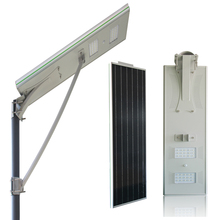5 Years Warranty Motion sensor LED 30 watt Solar Street Light with APP Remote control for garden, street