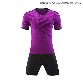 2017 Hot Sell Soccer Jersey Kit for Adult and Child