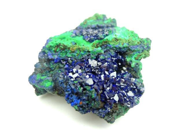 [China] Kistler Court natural azurite rough ore mineral crystal specimens Kistler collections