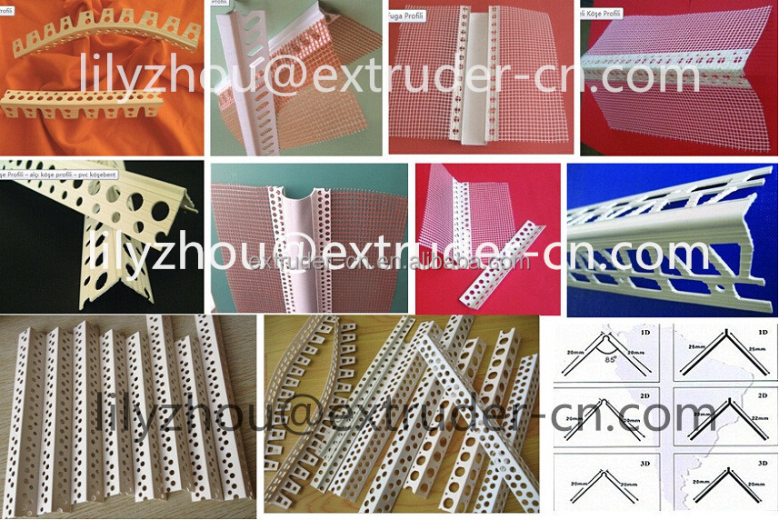 Pvc External And Inner Corner Beads/angle Beads Extrusion Line ...
