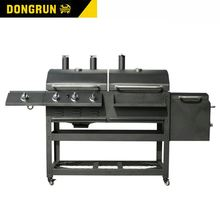 China leveranciers Outdoor barbecue Houtskool <span class=keywords><strong>Gas</strong></span> Kam <span class=keywords><strong>BBQ</strong></span> <span class=keywords><strong>Grill</strong></span> CE ROHS 25 DONGRUN merk