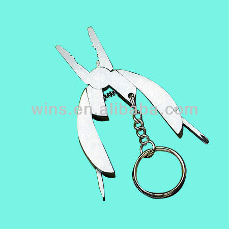 multi plier and tools with key ring