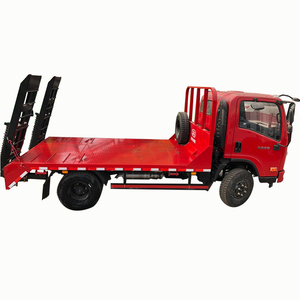 New EURO 5 Flat bed carrier small flatbed truck