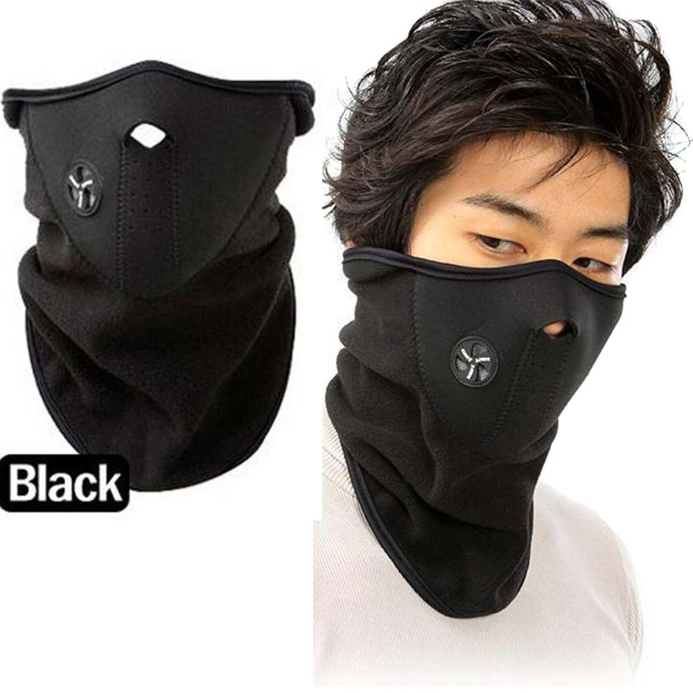 Detail Feedback Questions about Outdoor Bike Bicycle Motorcycle Half Face  Mask Fleece Fabric Warm Winter Cyling Cap Cover Neck Guard Scarf Headwear  Masks on ... b3ba620ca1e