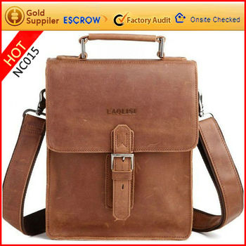 Top Original Full Grain Leather Handbags For Ipad Men