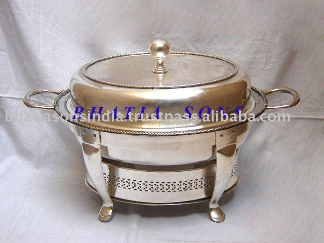 Silver Plated CHAFFING DISH/Buffet warmer BSACD-88