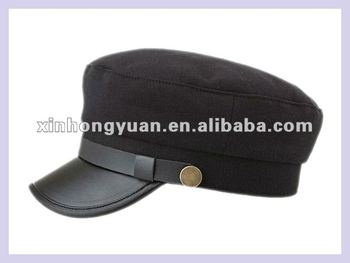 dbe647bf11c Cool Sailor Newsboy Navy Cap Flat Top Cap - Buy Navy Beret Hat ...