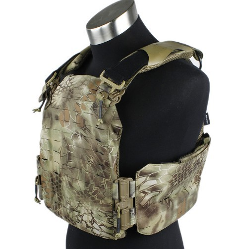 python pattern camouflage Strandhogg cutting board carrier tactical vest CS outdoor field