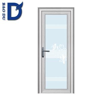 Home Decorative Safety Glass Balcony Sliding Aluminum