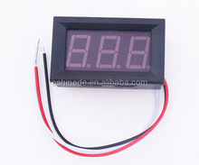 New Mini Digital Voltmeter DC 0-200v Voltage Meter LED Panel 3-Digital Display 0.56 inch Good
