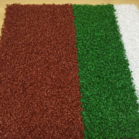 Customized high color fastness 40mm artificial grass landscape for home garden