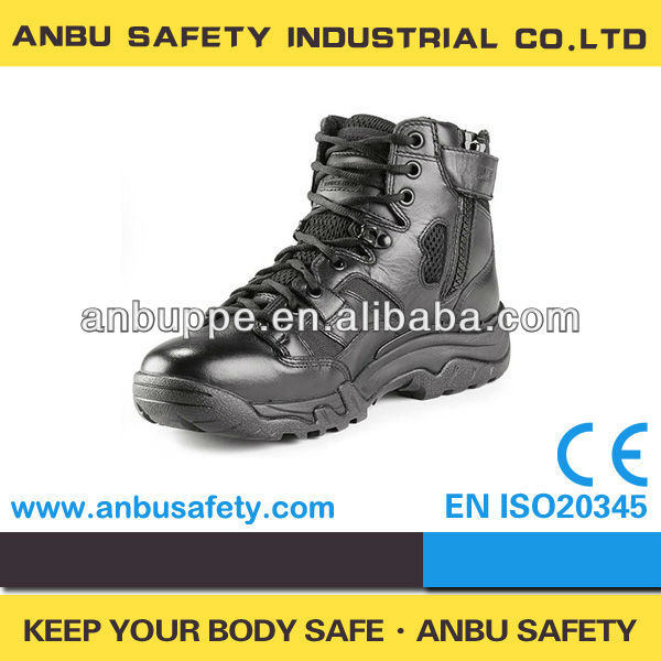 tactical research long-wearing stylish social security police patrol boots for guard