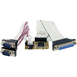 "Startech.Com 2S1p Serial Parallel Combo Mini Pci Express Card For Embedded Systems - 2 X 9-Pin Db-9 Male Rs-232 Serial ""Product Category: I/O & Storage Controllers/Serial/Parallel Adapters"""